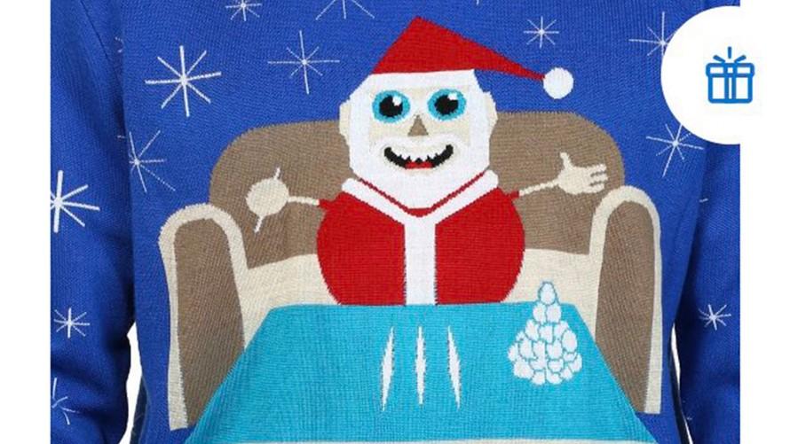 Santa Walmart Sweater