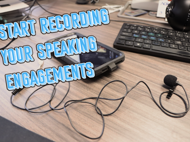 How to Record your Speeches